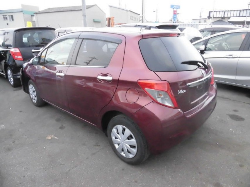 Damaged Toyota Vitz 2012 best price for sale and export in Japan ...
