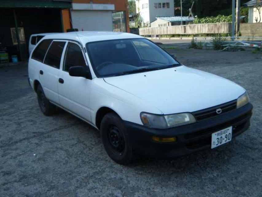 Used Toyota Corolla 1998 best price for sale and export in Japan
