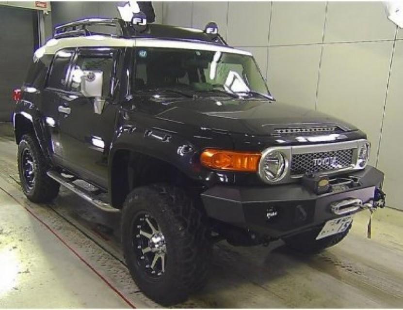 Used Toyota Fj Cruiser Suv Hl 2010