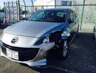 Damaged Mazda Axela Wagon DBA-BL5FW (2011)