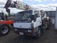 Used Mitsubishi Canter Truck Crane FE337BHZ (1991)
