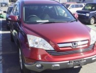 Damaged Honda CR-V SUV DBA-RE3 (2008)