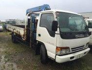 Used Isuzu ELF Truck Truck Crane NPR70P (1996)