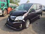 Damaged Nissan Serena Wagon FC26 (2011)