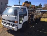 Used Isuzu ELF Truck Crane NPR59LR (1988)
