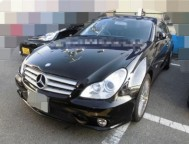 Damaged Mercedes Benz Sedan DBA-219356 (2008)