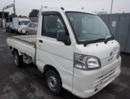 Damaged Daihatsu Hijet Mini Truck S201P (2010)