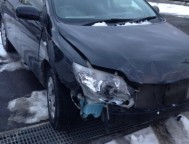 Damaged Toyota Fielder Wagon NZE144 (2011)