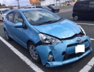 Damaged Toyota AQUA HatchBack NHP10 (2012)
