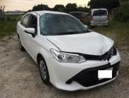 Damaged Toyota Corolla Axio Sedan NRE161 (2015)
