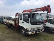 Used Isuzu FORWARD Truck Crane FRR33H2 (1995)