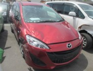 Damaged Mazda Premacy Wagon DBA-CWFFW (2014)