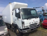 Used Mitsubishi Fuso Fighter REFRIGERATION BOX FK61FJ (2003)