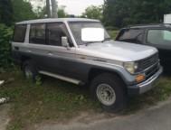 Used Toyota Land Cruiser Prado SUV LJ78G (1990)