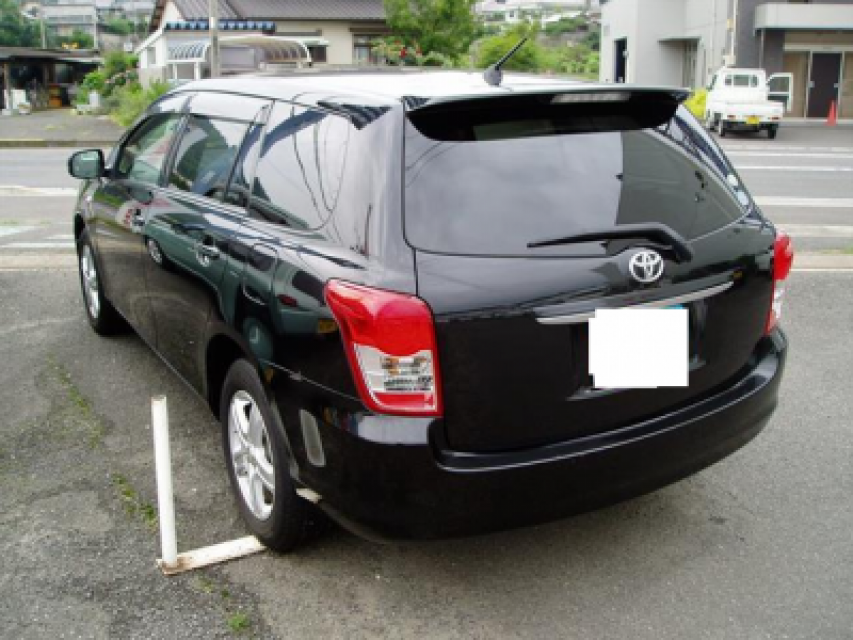 Used Toyota Corolla Fielder 2009 best price for sale and export in ...