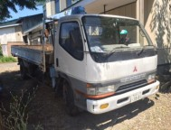 Used Mitsubishi Canter Truck Crane FE637F (1995)