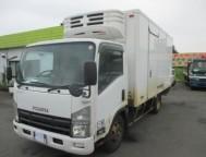 Used Isuzu ELF Refrigerator Truck REFRIGERATOR BOX NPR85AN (2007)