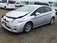 Damaged Toyota Prius Sedan ZVW30 (2011)