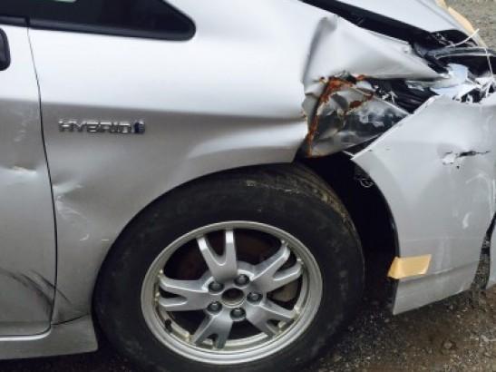 Damaged Toyota Prius Sedan ZVW30 (2011)