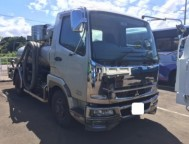 Used Mitsubishi Fuso Fighter Vacuum Truck FK71R (2007)