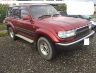 Used Toyota Land Cruiser SUV HDJ81V (1992)