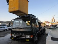 Used Mitsubishi Fuso Fighter Arial Works Platforms FK415F (1992)