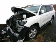 Damaged Toyota Land Cruiser SUV URJ202W (2014)