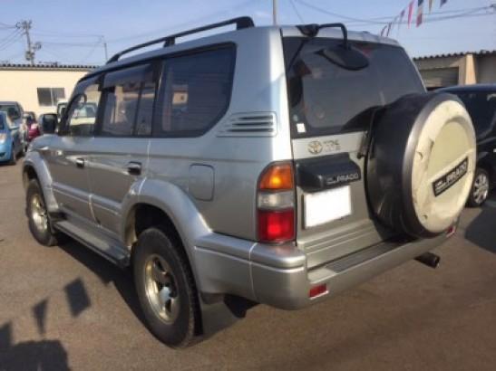 Used Toyota Land Cruiser Prado SUV KD-KZJ95W (1998)