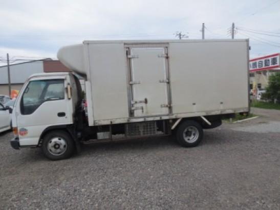 Used Isuzu ELF Refrigerator Truck Trucks NPR71LV (1997)