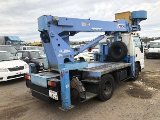 Used Isuzu ELF Truck Crane NKR66E2N (1996)