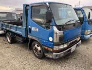 Used Mitsubishi CANTER DUMP Dump FE517BD (1996)