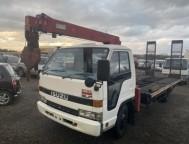 Used Isuzu ELF Truck Truck Crane NPR66P (1992)