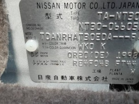 Used NISSAN X-Trail SUV NT30 (2002)