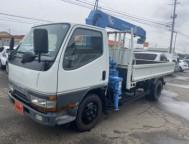 Used Mitsubishi Canter Truck Crane KC-FE568EV (1997)