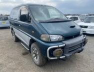 Used Mitsubishi Delica Space Gear Van-Minivan kD-PE8W (1996)