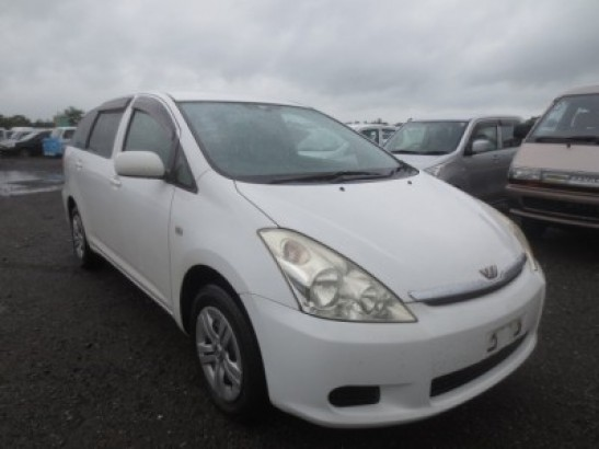 Used Toyota Wish SUV UA-ZNE14G (2003)