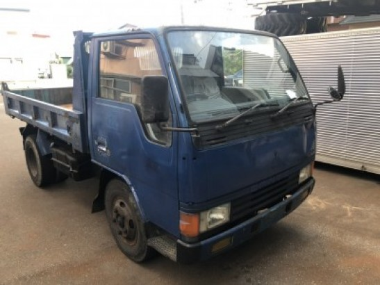 Used Mitsubishi CANTER DUMP Dump P-FE315BD (1986)