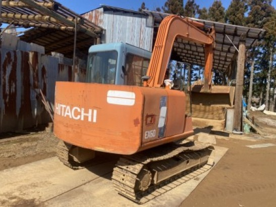 Used Hitachi Excavator EX60-3 (0)